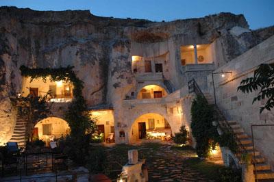 هتلهای صخره ای كاپادوكيا - تركيه (هتل صخره ای ELKEP EVi - Cappadocia Cave Hotel)