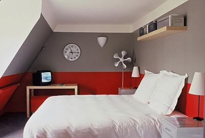 رنگ و نور پردازی های زیبای اتاق های هتل