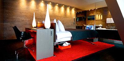رنگ آمیزی ، نورپردازی و دکوراسیون اتاق های هتل